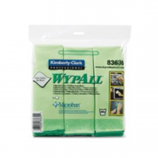 Kimberly Clark,WypAll* Microfiber Cloths with Microban® Protection, 83630