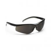 Kimberly Clark KLEENGUARD V40 Contour Eye Protection, Black Frame/Smoke Lens