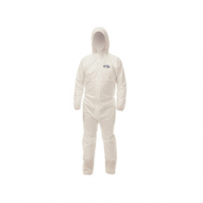 KLEENGUARD* A30 Breathable Splash & Particle Protection Apparel - Large, 46112