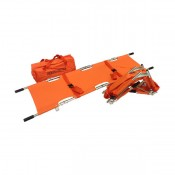Four Fold Stretcher (w/sewn 2 Strap & Carrying Bag) PM-1A9-FF