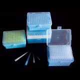 Pipet Tips 10μL, Clear, RNase & DNase Free, Sterile, 96 Tips/Rack