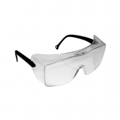 3M™ OX™ 2000 Protective Eyewear 12163-00000-20, Clear Anti-Fog Lens, Black Temple