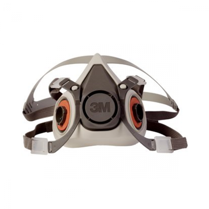 Reusable aad Respirator 3m™ 07026 6300 Facepiece Large Half