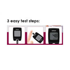 Blood Glucose Monitoring System HGM-112 with 25 Test Strip