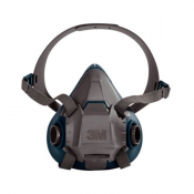 3M™ Rugged Comfort Half Facepiece Reusable Respirator 6502/49489, Medium