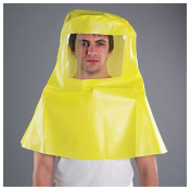 MICROCHEM® 3000 Chemilcal Resistant Cape Hood With Visor Model 508
