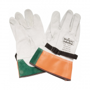 Glove Ansell Cowhide Leather Protector Overglove