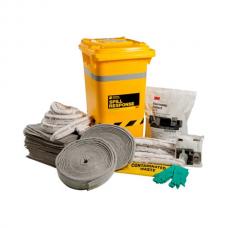 3M™ General Purpose Sorbent Spill Kit Wheelie Bin - 210L, MSRK-210