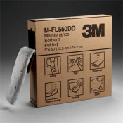 3M™ Maintenance Sorbent Folded M-FL550DD, High Capacity